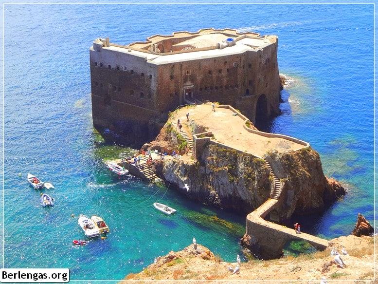 Fortaleza das Berlengas, visitar Berlengas