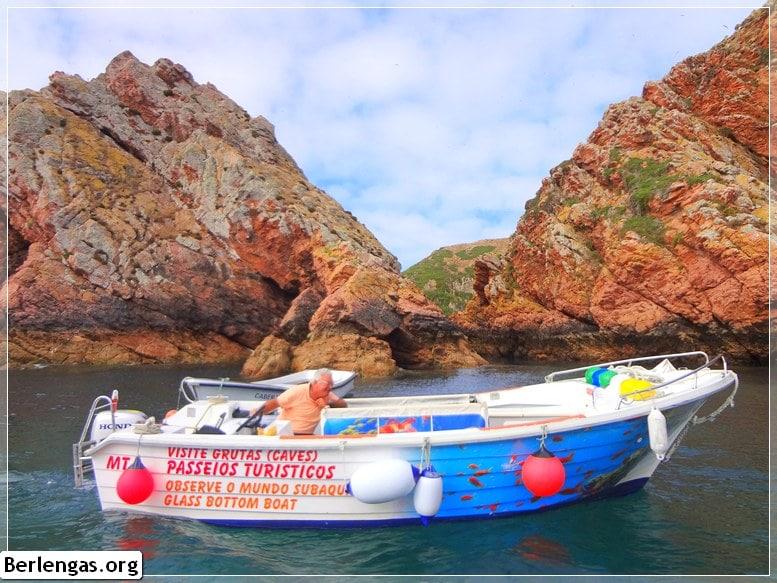 Passeio e excursões de barco nas Berlengas