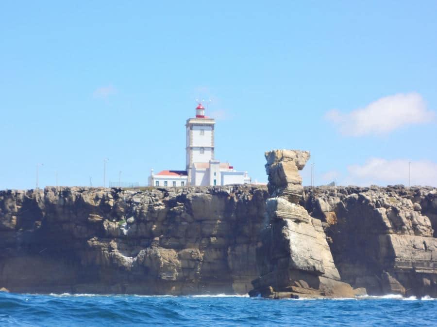 Avistamento do Cabo da Roca a caminho das Berlenhas
