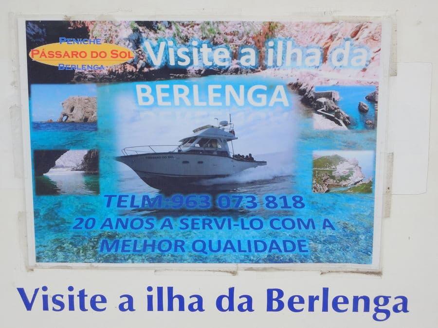 Escolher uma agência para as Berlengas no Molho Cais Marina em Peniche