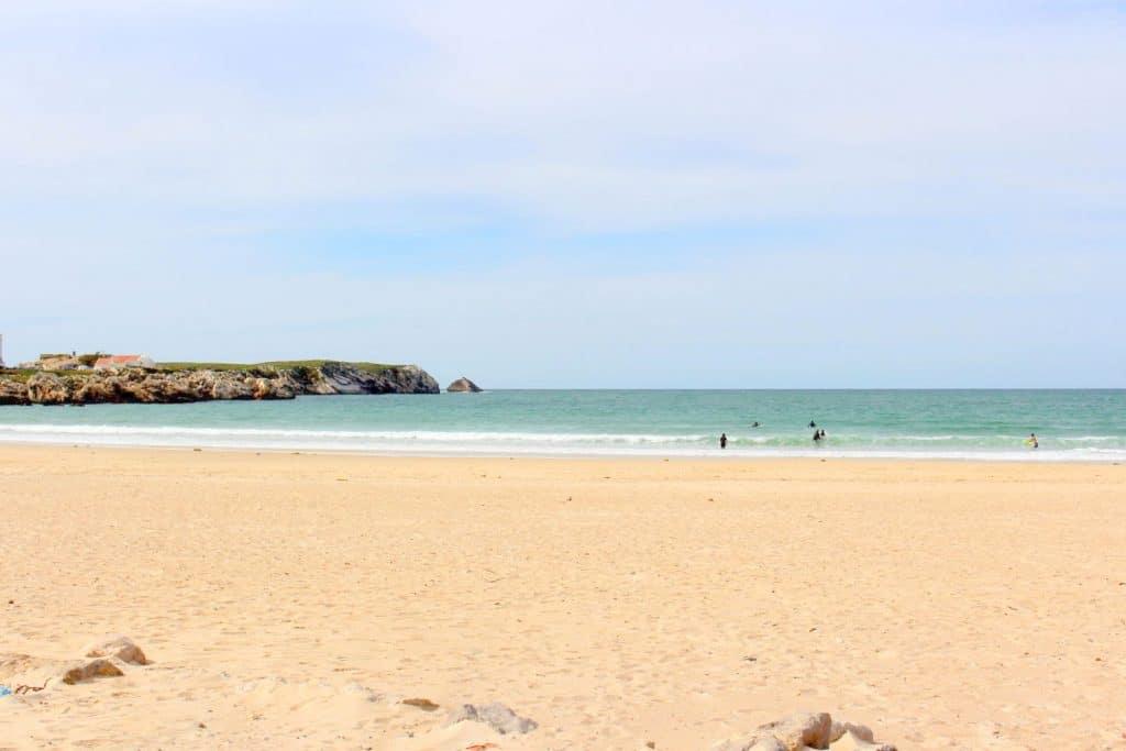 Praias em Peniche Portugal