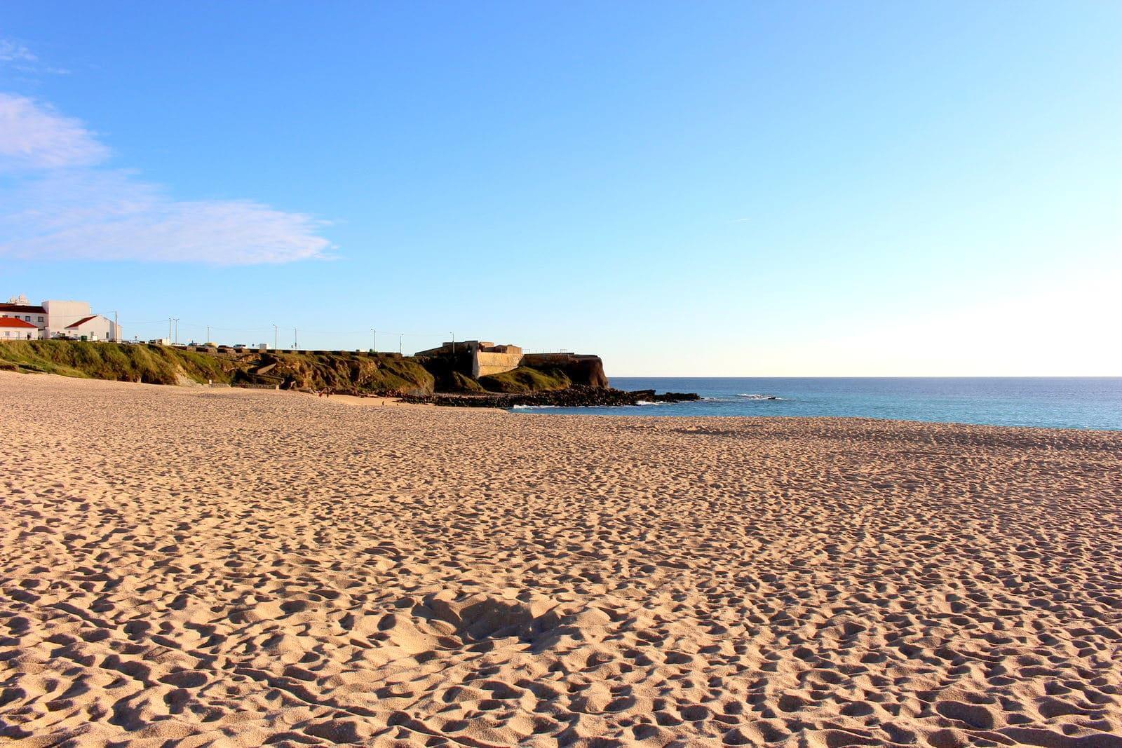 Praia da Consolação em Peniche Arquipélago das Berlengas
