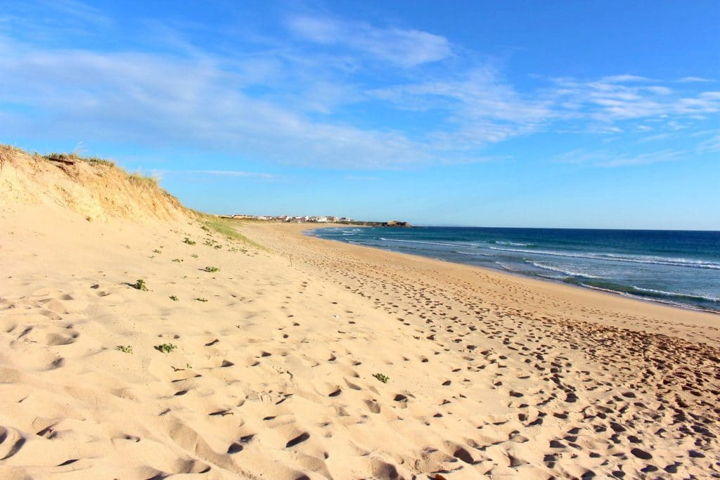 Praia de Medão / Supertubos em Peniche