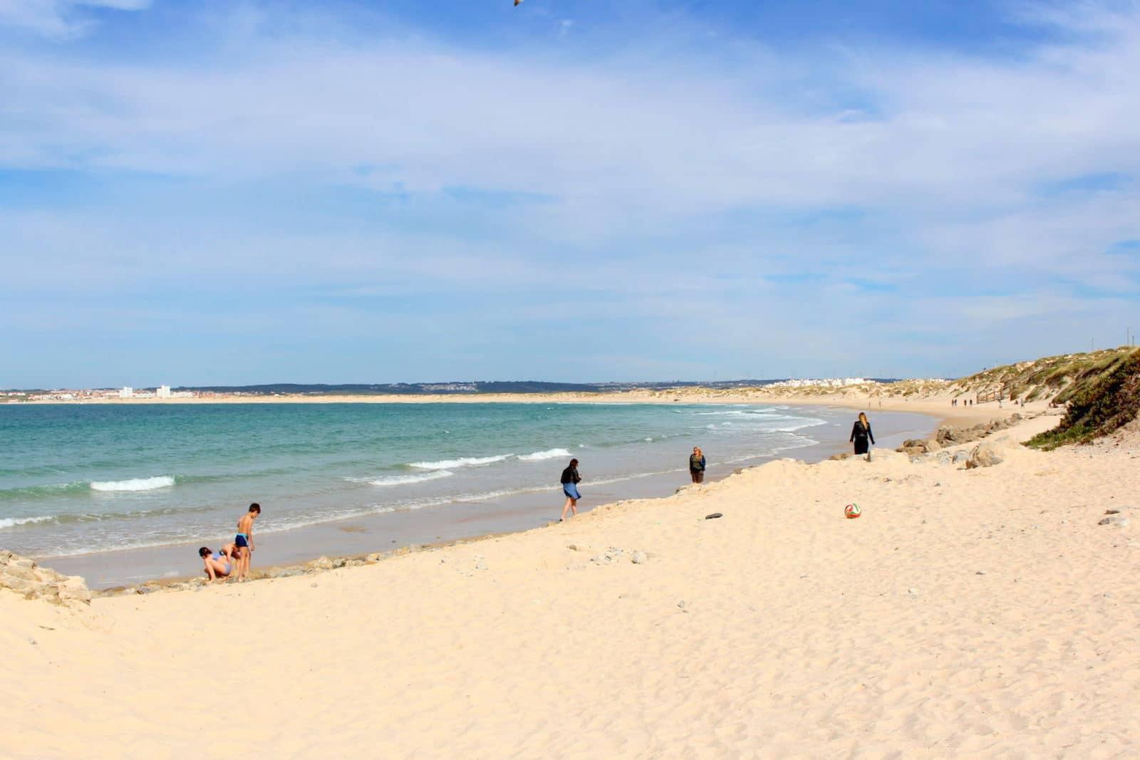 Praia de Peniche de Cima